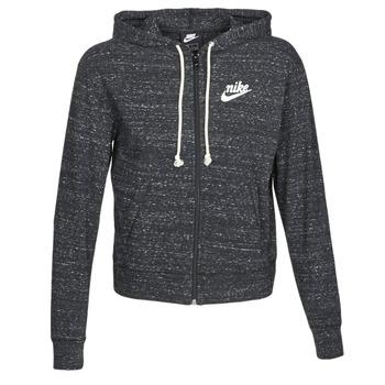 Textil Mulher Sweats Nike W NSW GYM VNTG HOODIE FZ Cinza