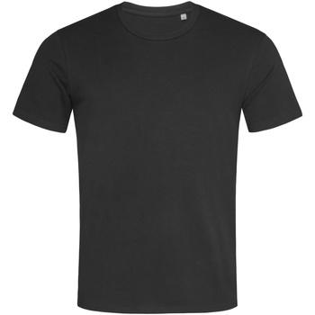 Textil Homem T-Shirt mangas curtas Stedman  Opala Negra