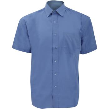 Textil Homem Camisas mangas curtas Russell 935M Azul Corporativo