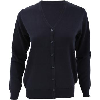 Textil Mulher Casacos de malha Kustom Kit KK354 Azul-marinho