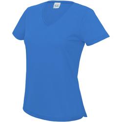 Textil Mulher T-Shirt mangas curtas Awdis JC006 Sapphire Blue