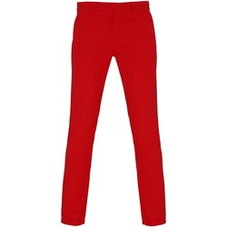 Textil Mulher Chinos Asquith & Fox Chino Cherry Red