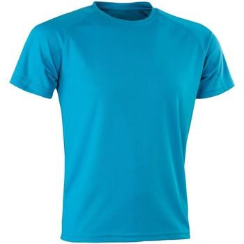 Textil Homem T-Shirt mangas curtas Spiro Aircool Azul-marinho
