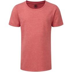 Textil Rapariga T-Shirt mangas curtas Russell R165G Marl vermelha