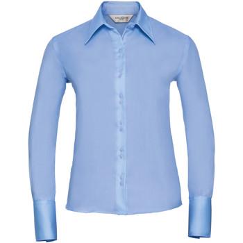 Textil Mulher camisas Russell Ultimate Céu Brilhante