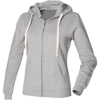 Textil Mulher Sweats Front Row FR801 Heather Grey