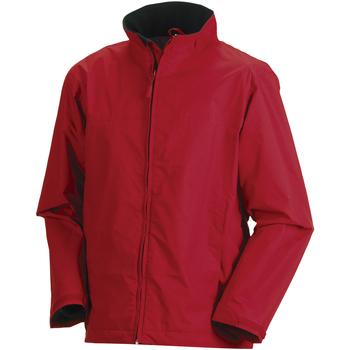 Textil Homem Corta vento Russell Europe Vermelho clássico
