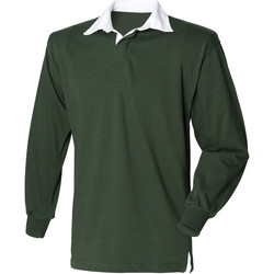 Textil Homem Polos mangas compridas Front Row Rugby Garrafa Verde