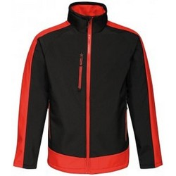 Textil Homem Corta vento Regatta RG422 Preto/Vermelho Clássico