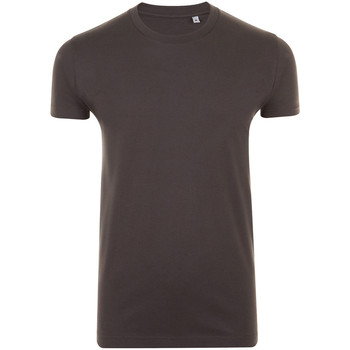 Textil Homem T-Shirt mangas curtas Sols 10580 Cinza Escuro
