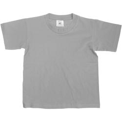 Textil Criança T-Shirt mangas curtas B And C TK300 Sport Grey
