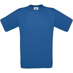 Textil Homem T-Shirt mangas curtas B And C TU004 Royal Blue