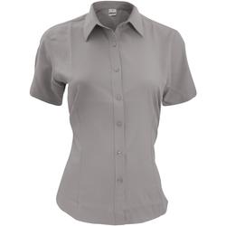 Textil Homem Camisas mangas curtas Henbury HB596 Slate Grey