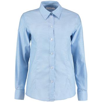 Textil Mulher camisas Kustom Kit KK361 Azul claro