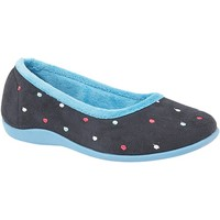 Sapatos Mulher Chinelos Sleepers  Azul/Turquesa