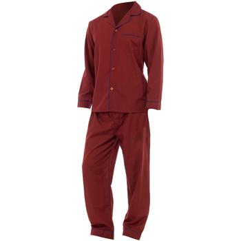 Textil Homem Pijamas / Camisas de dormir Universal Textiles  Vermelho