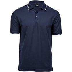 Textil Homem Polos mangas curta Tee Jays TJ1407 Marinha/ Branco