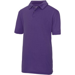 Textil Criança Polos mangas curta Just Cool  Púrpura