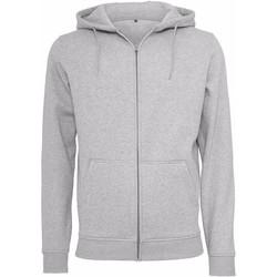 Textil Homem Sweats Build Your Brand BY012 Heather Grey