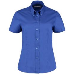 Textil Mulher camisas Kustom Kit KK701 Royal Blue