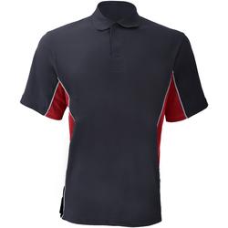 Textil Homem Polos mangas curta Gamegear KK475 Marinha/vermelho/branco