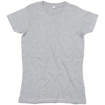 Textil Mulher T-Shirt mangas curtas Mantis M69 Heather Grey Melange