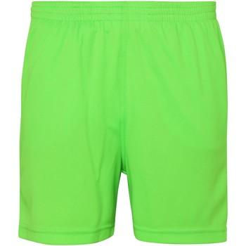 Textil Criança Shorts / Bermudas Awdis JC80J Verde elétrico