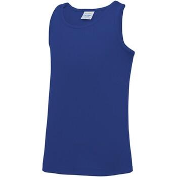 Textil Criança Tops sem mangas Awdis JC07J Royal Blue