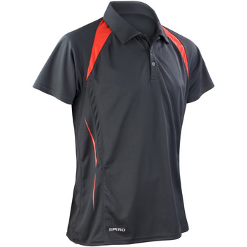 Textil Homem Polos mangas curta Spiro S177M Preto/Vermelho