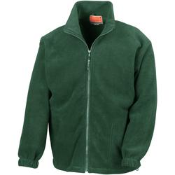 Textil Homem Casaco polar Result R36X Verde Floresta