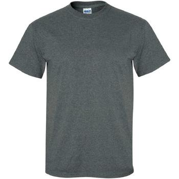 Textil Homem T-Shirt mangas curtas Gildan Ultra Heather Negra