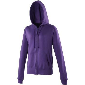 Textil Mulher Sweats Awdis JH055 Púrpura