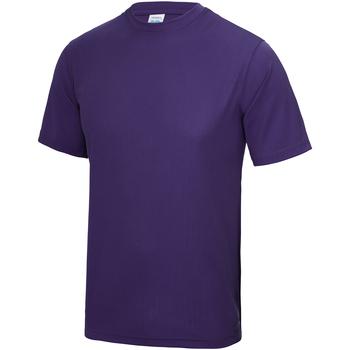Textil Criança T-Shirt mangas curtas Awdis JC01J Púrpura