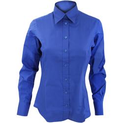 Textil Mulher camisas Kustom Kit KK702 Royal Blue