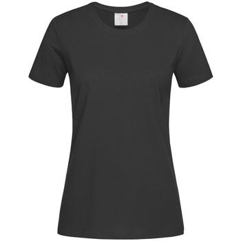 Textil Mulher T-Shirt mangas curtas Stedman Comfort Opala Negra