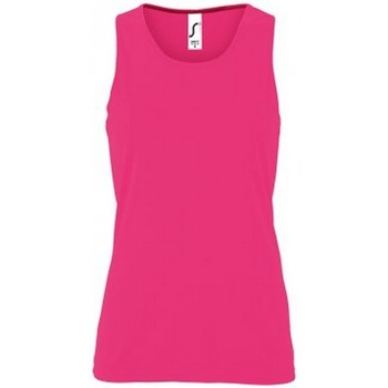 Textil Mulher Tops sem mangas Sols 2117 Neon Pink