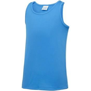 Textil Criança Tops sem mangas Awdis JC07J Sapphire Blue