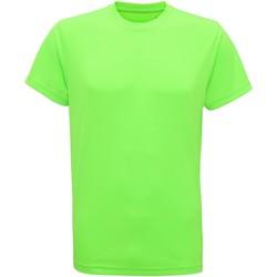 Textil Homem T-Shirt mangas curtas Tridri TR010 Verde relâmpago