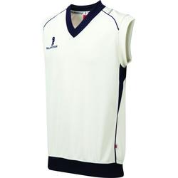 Textil Rapaz camisolas Surridge Curve Branco/ Maroon trim