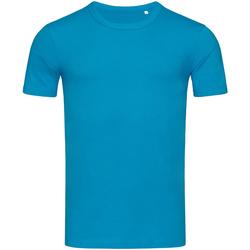Textil Homem T-Shirt mangas curtas Stedman Stars Morgan Azul Hawaii