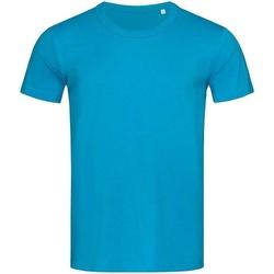 Textil Homem T-Shirt mangas curtas Stedman Stars Stars Azul Hawaii