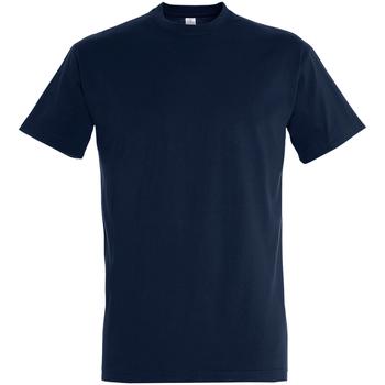 Textil Homem T-Shirt mangas curtas Sols 11500 marinha francesa