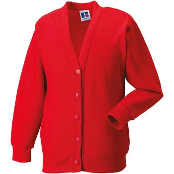 Textil Criança Casacos de malha Jerzees Schoolgear 273B Vermelho Brilhante