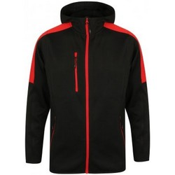 Textil Homem Corta vento Finden & Hales LV622 Preto/Vermelho