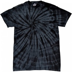 Textil T-Shirt mangas curtas Colortone Tonal Preto Aranha