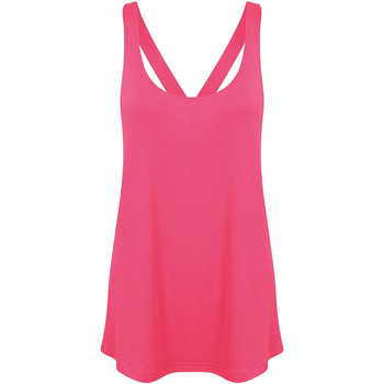 Textil Mulher Tops / Blusas Skinni Fit Workout Neon Pink