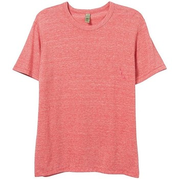 Textil Homem T-Shirt mangas curtas Alternative Apparel AT001 Eco Red