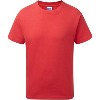 Textil Rapaz T-Shirt mangas curtas Jerzees Schoolgear J155B Vermelho clássico