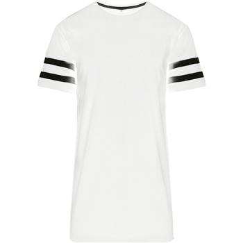 Textil Homem T-Shirt mangas curtas Build Your Brand BY032 Branco/Preto