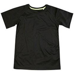 Textil Criança T-Shirt mangas curtas Stedman  Opala Negra
